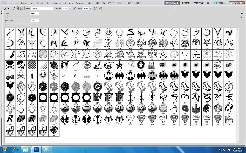 Download Photoshop Logo N Symbols Brush Full Ver Pc Game